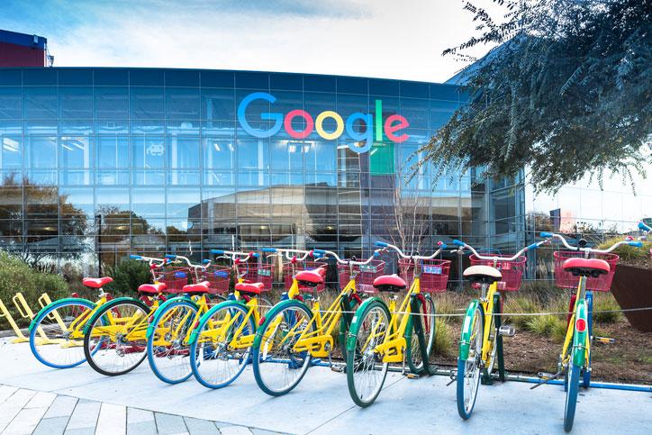 Bikes at Googleplex