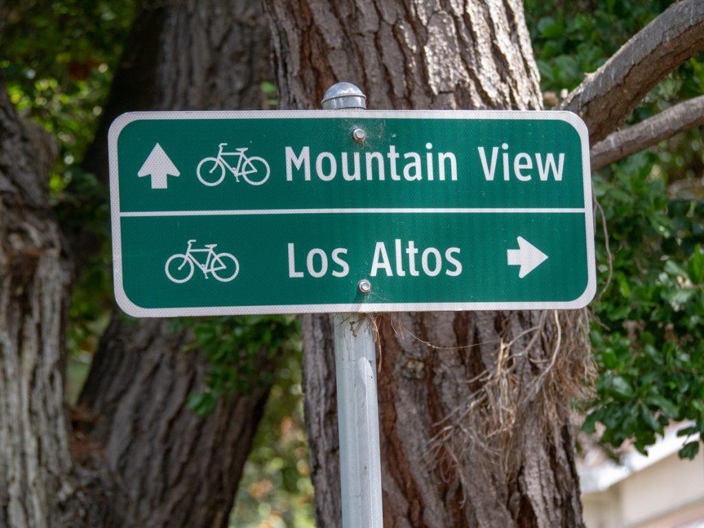 Los Altos street signage